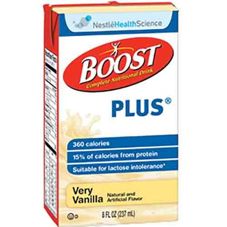 Boost Plus Very Vanilla 8oz Brikpaks 27/Case - 2 CASE SPECIAL ()
