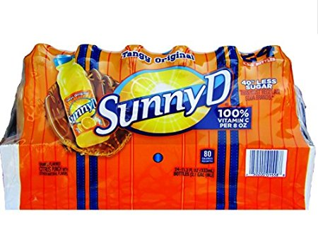 Sunny D Tangy Original Orange Flavored Citrus Punch Drink with Other Natural Flavors, 24... by Sunny D