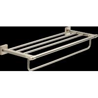 Franklin Brass MAX93-SN Maxted Modern Towel Shelf With Bar, Satin Nickel