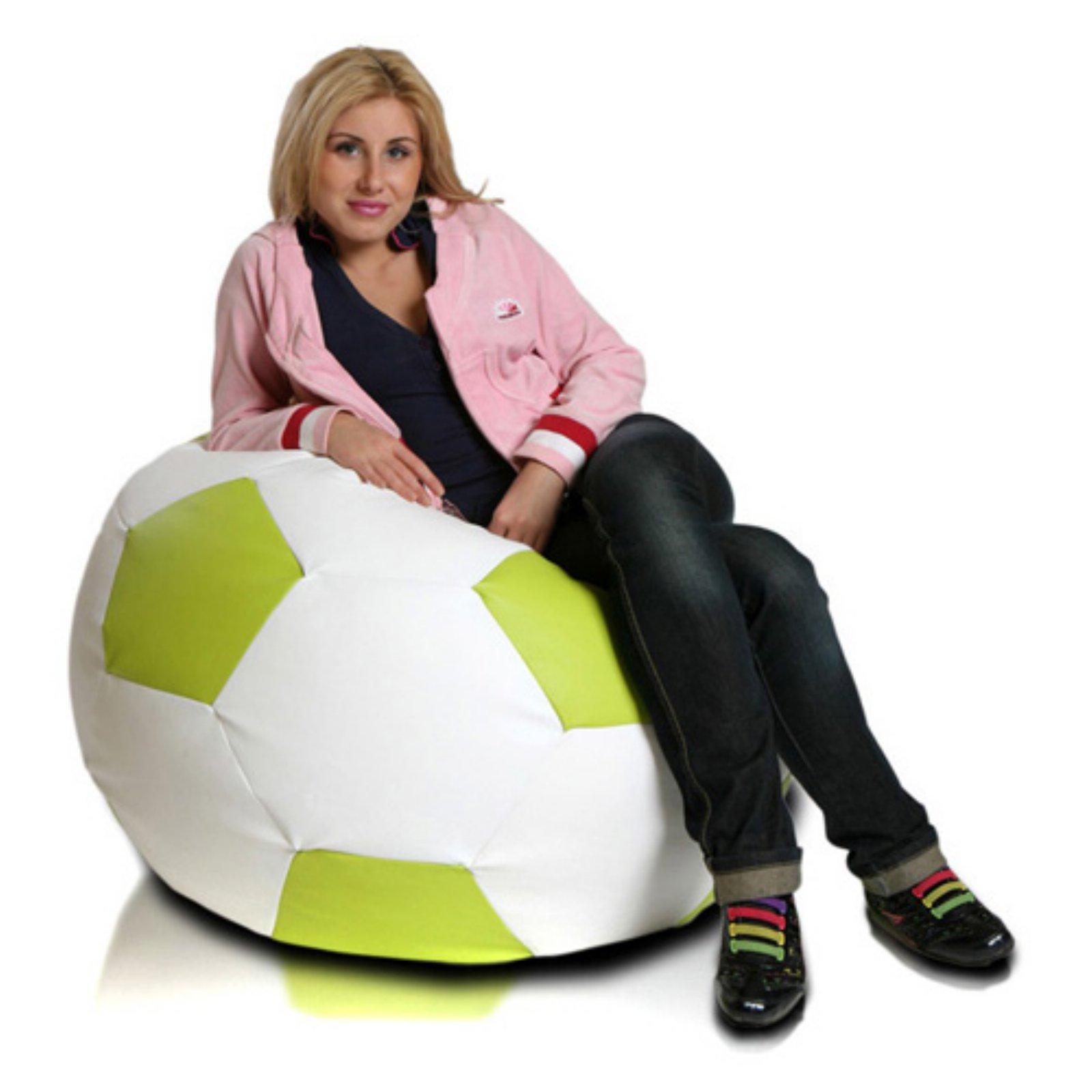 Turbo Beanbags Soccer Ball Large Bean Bag Chair