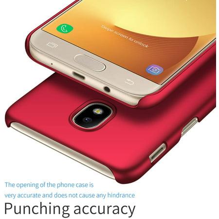 Kqimi Case for Samsung Galaxy J3 2018 [Ultra-Thin] Premium Material Slim Full Protection Cover For J3 2018/J3 Orbit/J3 - image 1 de 5