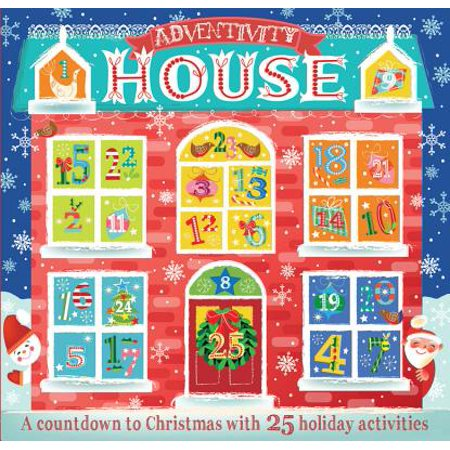 Adventivity House : A Countdown to Christmas with 25 Holiday Activities - Halloween Countdown Calendar Activities