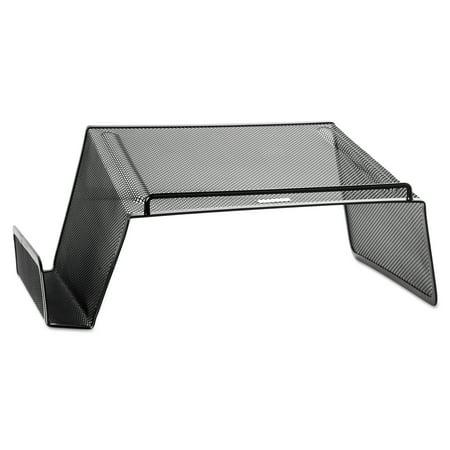 Rolodex Mesh Telephone Desk Stand  10 X 11 1 4 X 5 1 4  Black