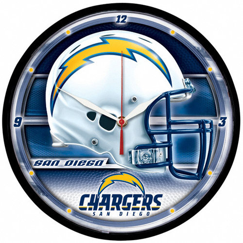 NFL - San Diego Chargers Round Clock