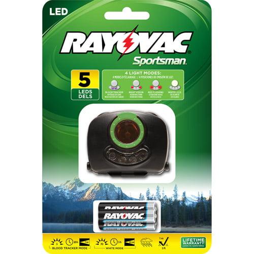 Rayovac Sportsman Blood Tracker Headlight