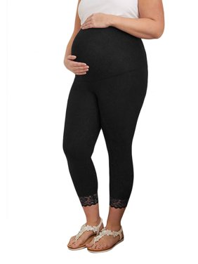 3e74c7950b2e6 Product Image Maternity Clothes Pregnancy Trousers For Pregnant Women  Casual Leggings Lace Ninth Pants