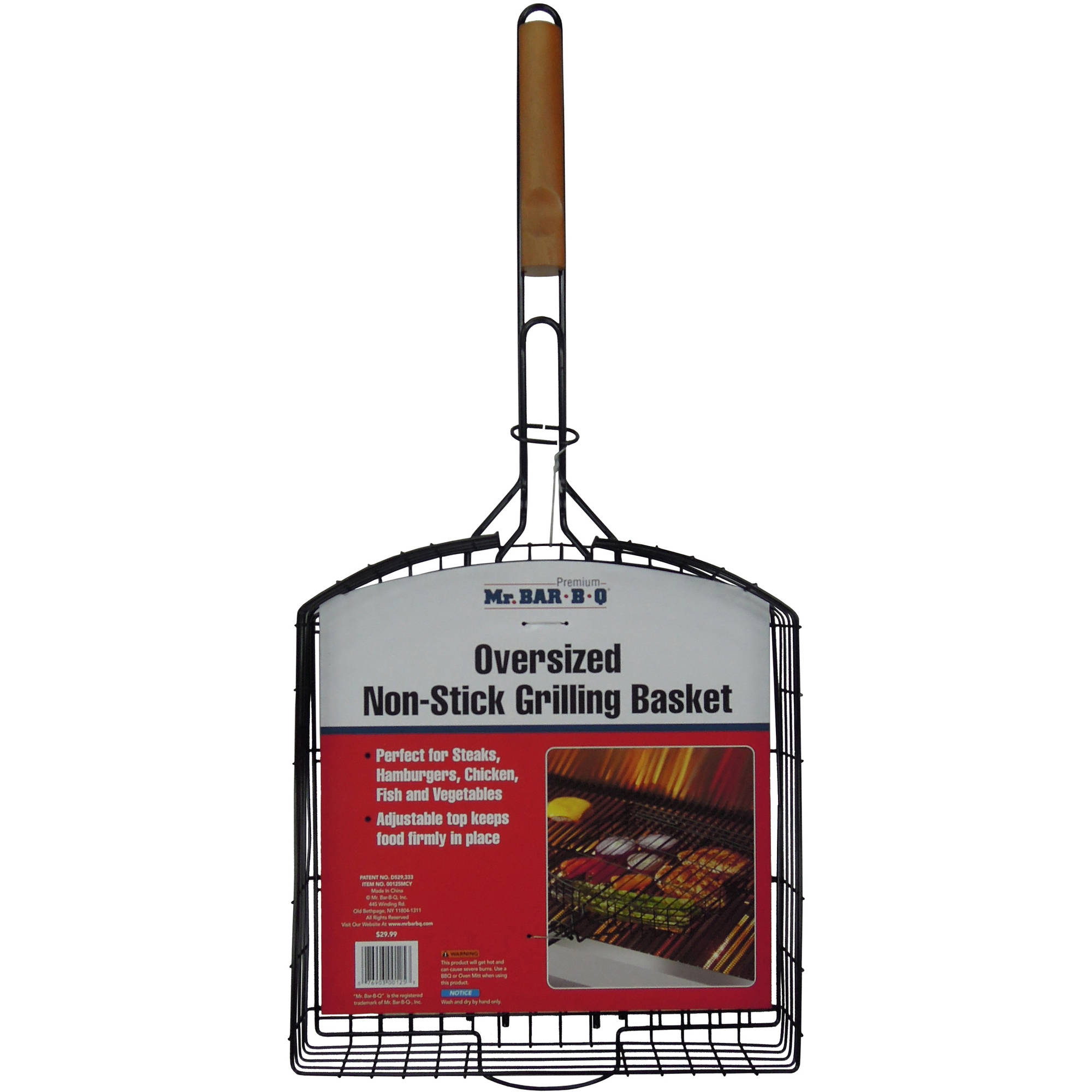Mr. Bar-B-Q Oversized Non-Stick Basket