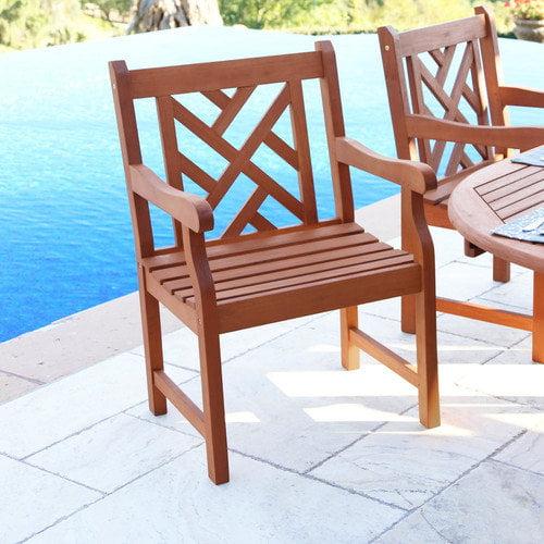Vifah Atlantic Dining Arm Chair