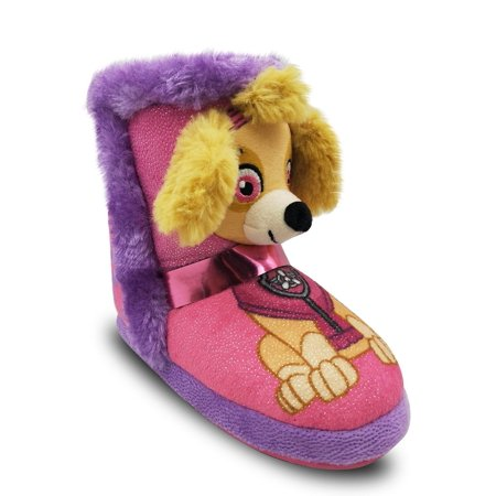 Nickelodeon Paw Patrol Character Slipper Bootie (Toddler Girls) (Slipper Booties For Girls)