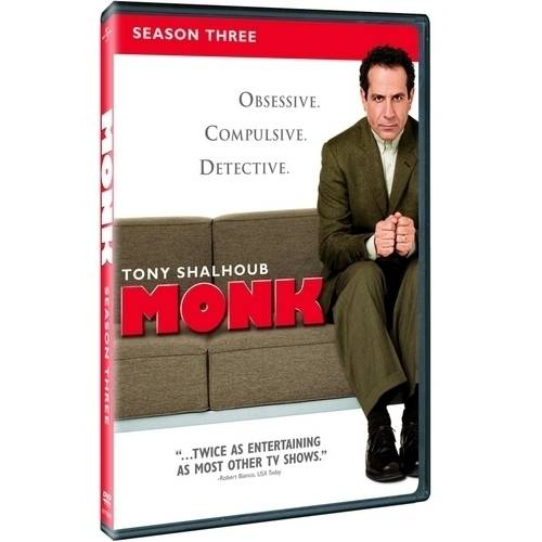 Monk - Monk: Season Three [4 Discs] [DVD]