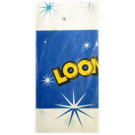 Looney Tunes Party Supplies (Looney Tunes 'Cosmic' Paper Table Cover )