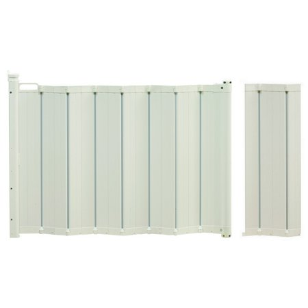 Babydan Guard Me Retractable Gate With Extension 22 Quot 44