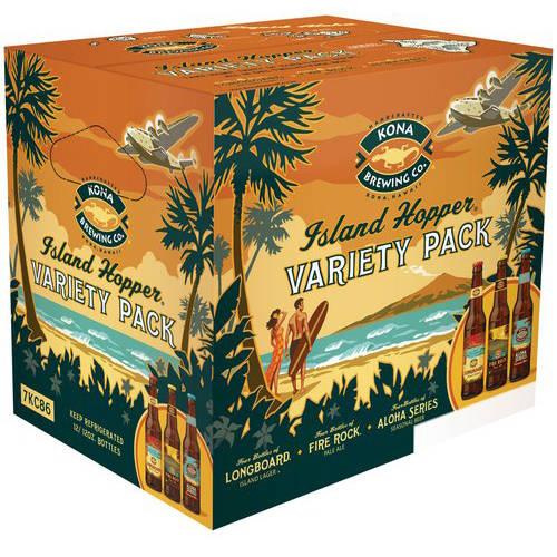 Kona Island Hopper Variety Pack, 12 pk 12 fl. oz. Bottles
