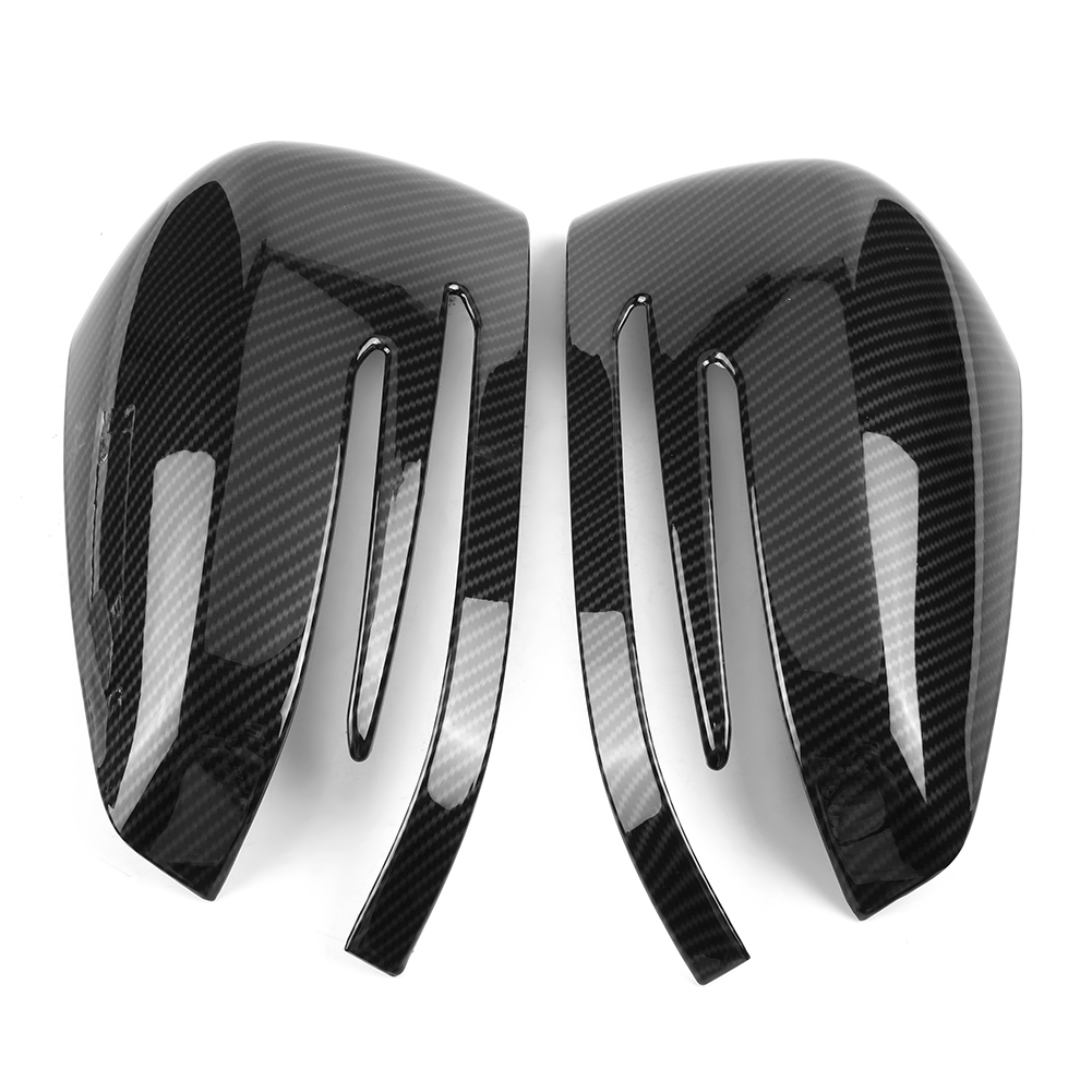 Stain and Other Damage for M E R C E D E S B E N Z A B C E S CLA GLK GLA Class W204 W246 Rearview Mirror Cover Rearview Mirror Cap to Protect Your Rear View Mirror from Scratch 1 Pair