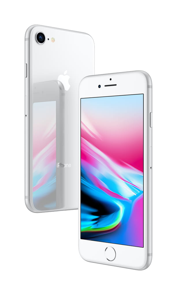 At T Apple Iphone 8 Plus 64gb Silver Upgrade Only Walmart Com Walmart Com