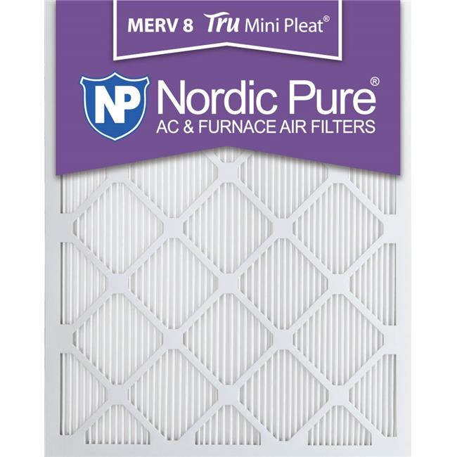 Nordic Pure 18x20x1 Exact MERV 11 Pleated AC Furnace Air Filters 1 Pack