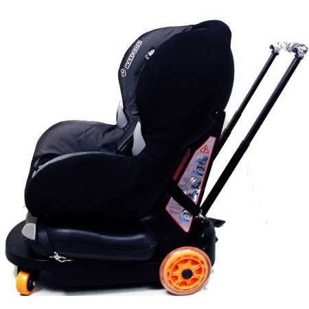 Go Babyz Travelmate Deluxe Compact Car Seat Stroller For Infant Or Toddler Black