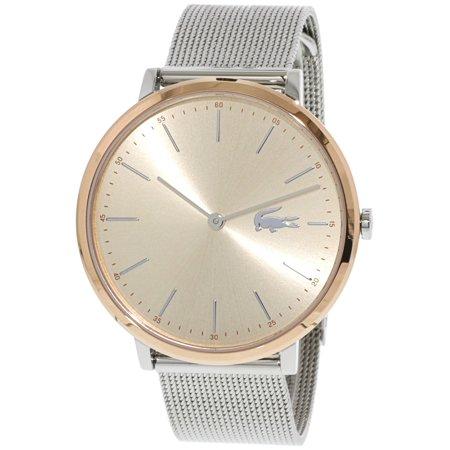 0ce47683a1b Lacoste Women s Moon 2001002 Silver Stainless-Steel Quartz Fashion Watch -  image 1 ...