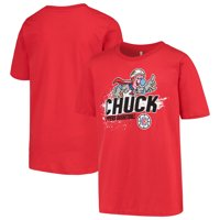 LA Clippers Youth Mascot Ice Break T-Shirt - Red