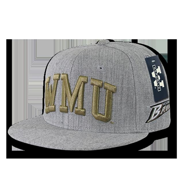 W Republic Game Day Snapback Western Michigan University, Heather Grey