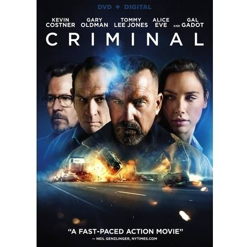Criminal (2016) (DVD   Digital Copy) (With INSTAWATCH)