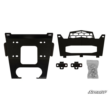 General Purpose Winch - RZR XP 1000 Polaris Winch Mounting Plate New WM-P-XPT-00