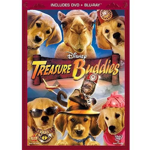 Treasure Buddies (DVD + Blu-ray)
