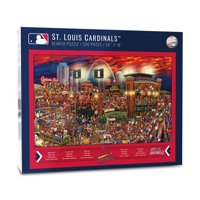 St. Louis Cardinals 500-Piece Joe Journeyman Puzzle