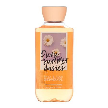 Bath & Body Works Picnic Summer Daisies 10.0 oz Shower Gel Bath Body Works Pumpkin