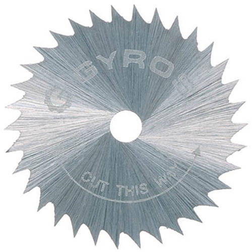"Gyros Tools 81-21015 1"" Course Gyros Steel Saw Blade"