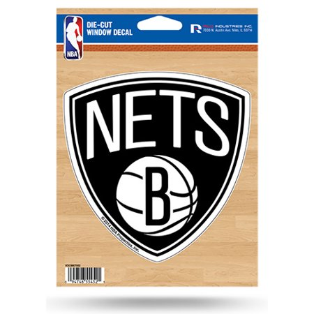 NBA Brooklyn Nets Die-Cut Vinyl Decal with Backing