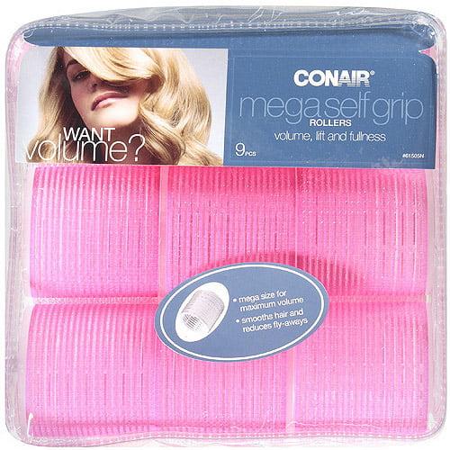 Conair Mega Self-Grip Rollers, 9 pc