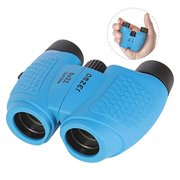 OMZER Kids Binoculars with High Resolution 8x22 Real Optic Toy Gifts for 3-9 Year Old Boys Girls Compact Binocular for Bird Watching Travel Best Birthday Presents to 4 5 6 7 8 Years Old Child Blue