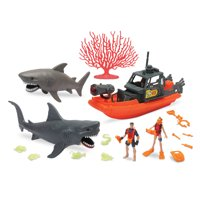 Kid Connection Shark Exploration Play Set, 23 Pieces