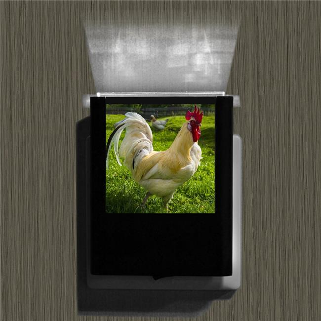 Uniqia UNLC0253 Night Light - Rooster Color