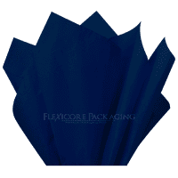 "Navy Blue Tissue Paper, 15""x20"", 100 ct"