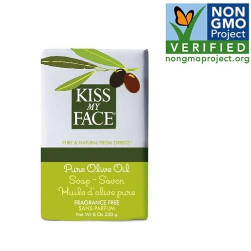 Bar Soap -Pure Olive Oil Kiss My Face 8 oz Bar Soap
