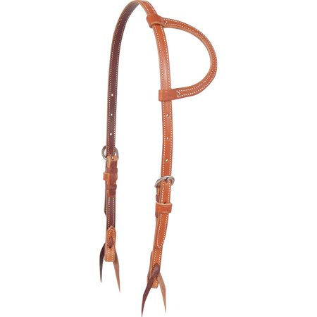 Martin Saddlery Brown Harness Leather Slip Ear -
