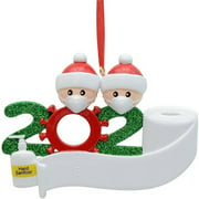 LNGOOR 2020 Christmas Ornaments Hanging Decoration Gift Product Personalized Family