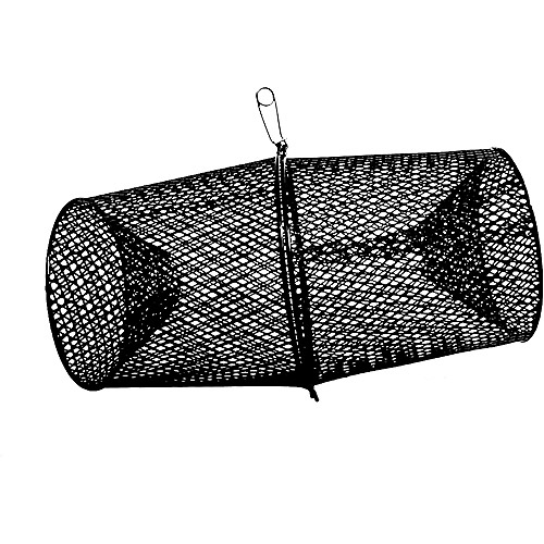 Frabill Minnow Trap, Vinyl, Black