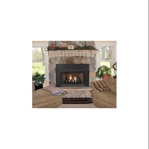 Vent Free Thermostat 28000 Btu Fireplace Insert Natural Gas