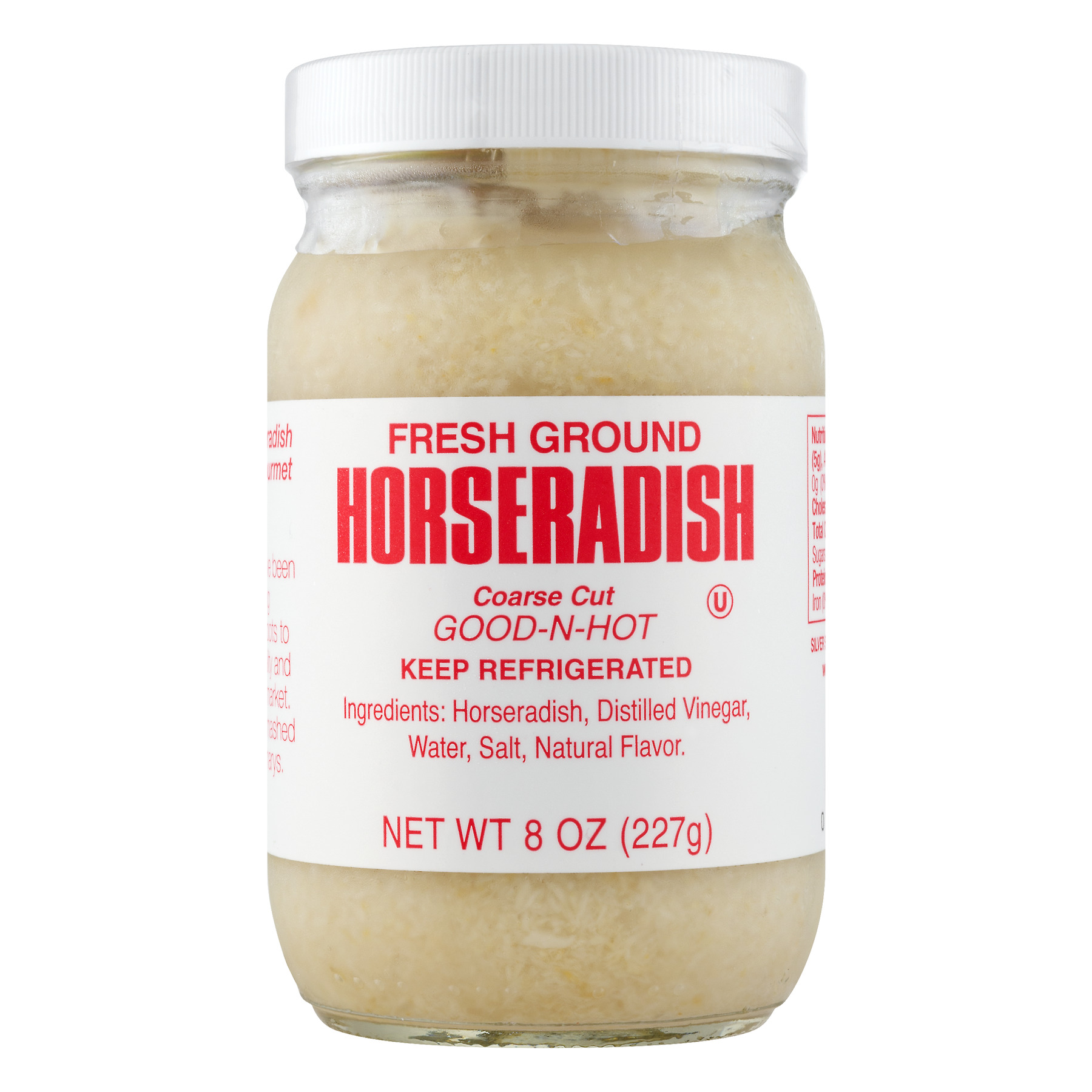 Silver Spring Fresh Ground Prepared Horseradish