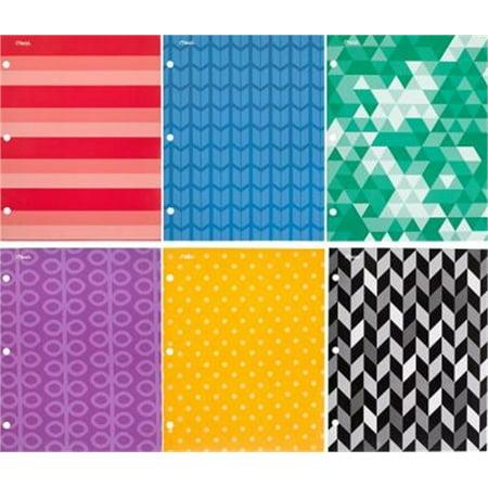 Asst Fashions - Portfolio 2Pk Fashion Asst, PartNo 33676, by Acco Brands Usa Llc, Stationery, Po