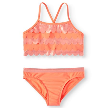 Ruffled Bikini Swimsuit (Little Girls & Big Girls)