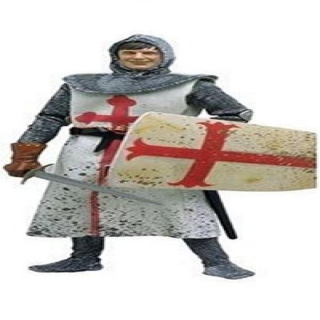 Python Collection - MICHAEL PALIN AS SIR GALAHAD * The Dirty Knights Collection (Muddy Version) * 12 Inch Monty Python and the Holy Grail 2002 Sideshow Toy Collectible Action Figure