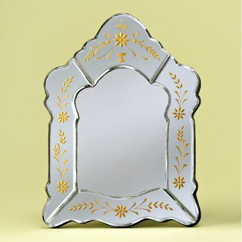 Venetian Gems Crisselle Venetian Table Mirror