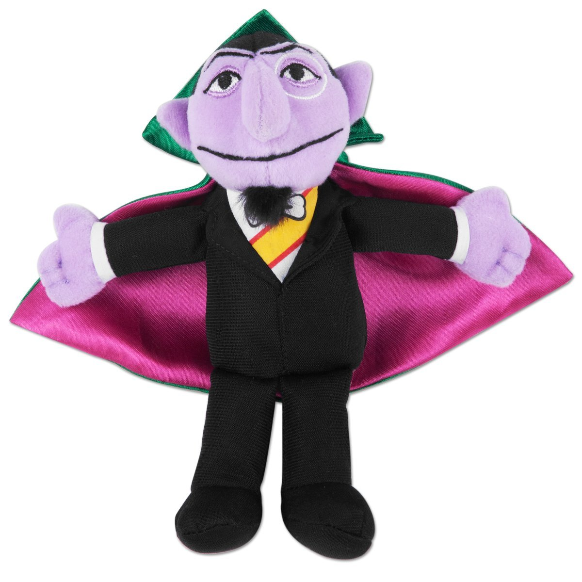Sesame Street Count Beanbag Stuffed Animal The Count, USA, Brand GUND by