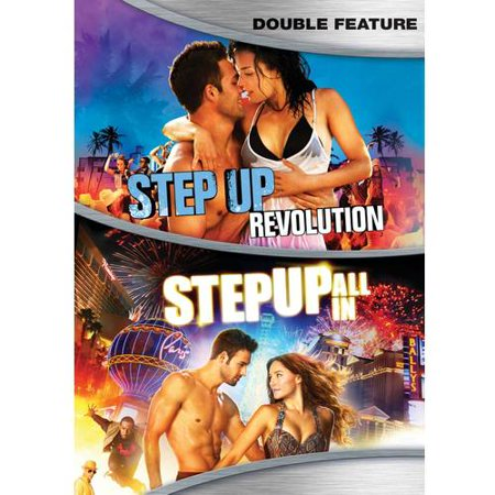 Step Up Double Feature: Revolution & All In Walmart Exclusive (Adam G Sevani Step Up All In)