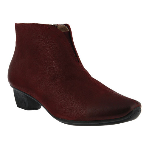 Women's Spring Step Aellice Bootie Bordeaux Pebbled Leather 36 M - image 7 of 7