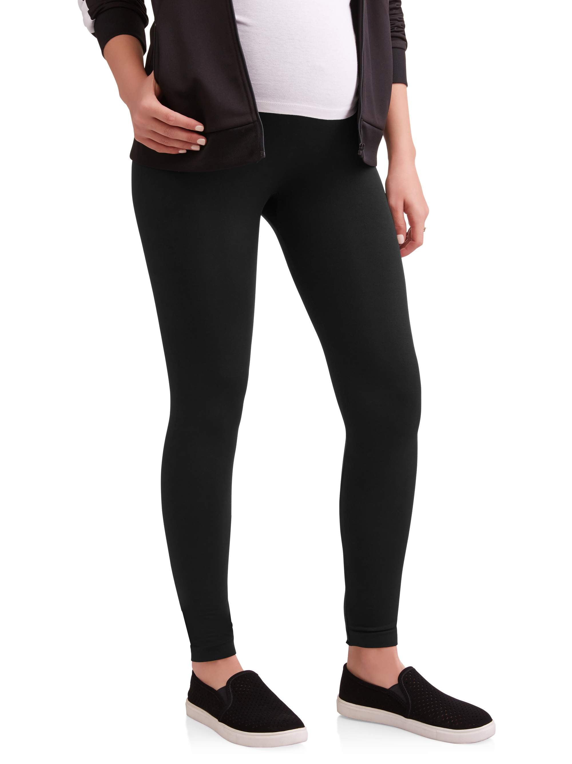 Maternity Over Belly Seamless Super Soft & Stretchy Leggings-- Available in Plus Size by Labor of Love